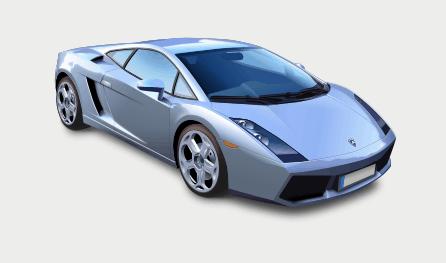 imagen de coche hecha con inkscape