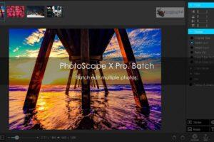 Editor de fotos Photoscape X