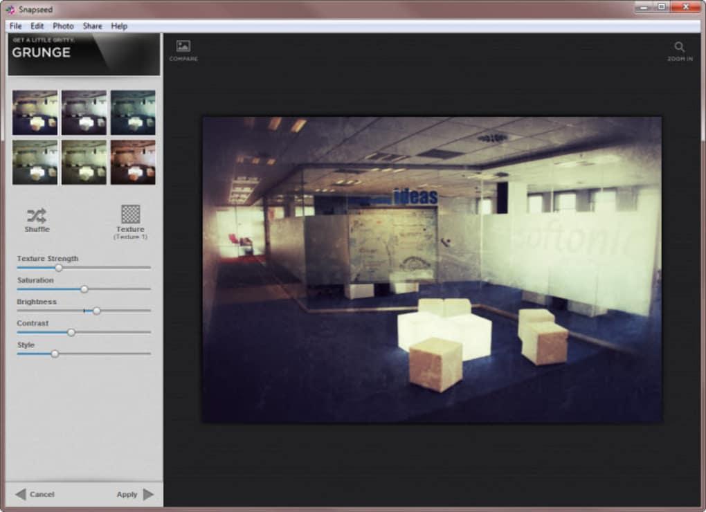 Snapseed editor de imagenes