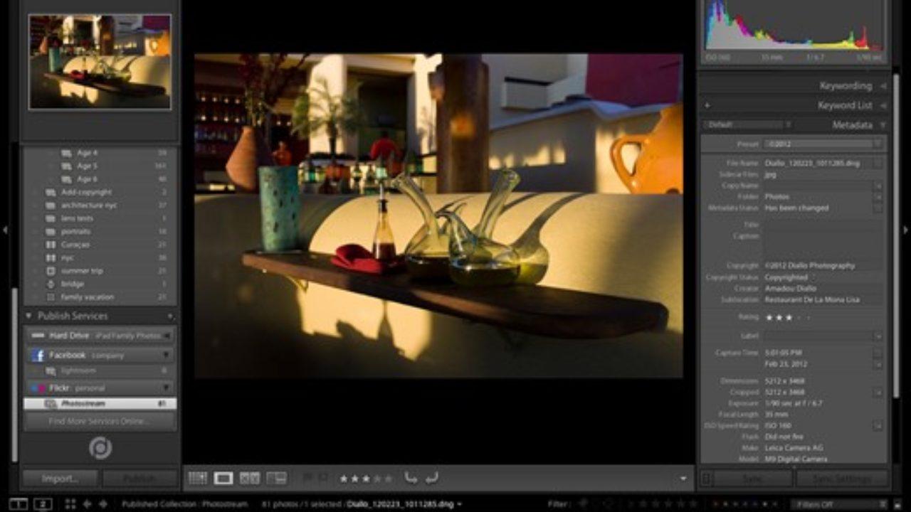 lightroom editor de imagenes