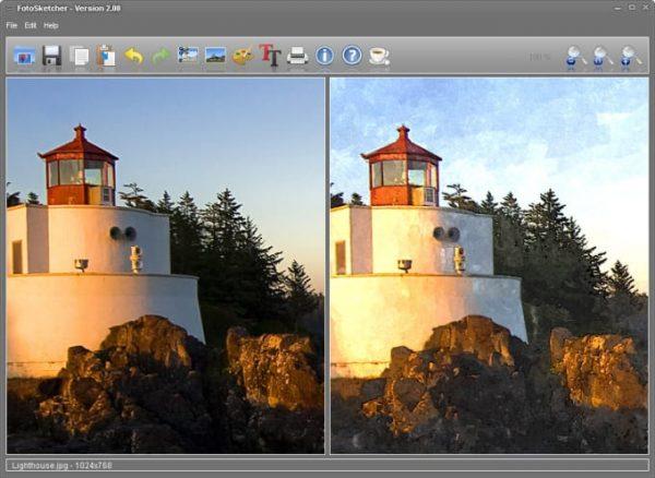 Descargar FotoSketcher gratis para pc