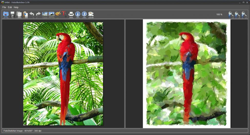 Descargar FotoSketcher gratis para pc ultima versión