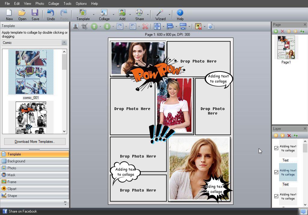 Descargar Picture Collage Maker para Windows ultima versión
