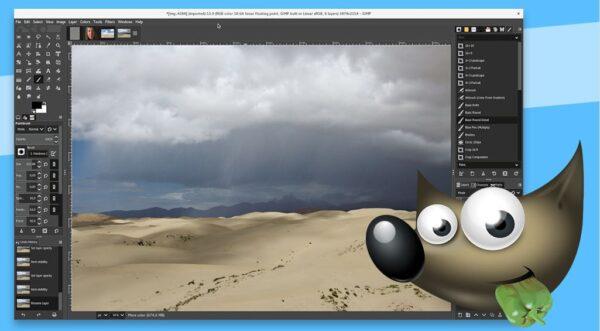 GIMP editor de fotos online
