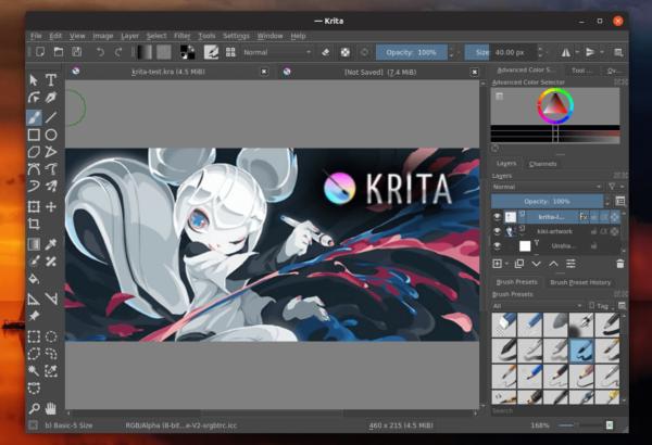 Krita descargar para linux