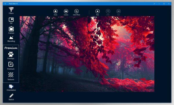 Photos de Microsoft Windows 10